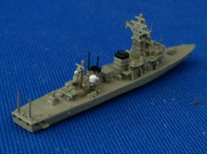 1/2000 JS Abukuma-class destroyer escort 3d printed painted
