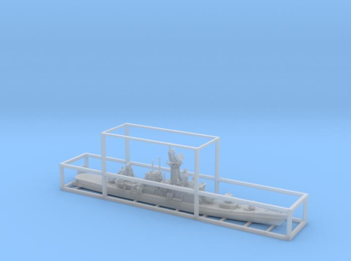 1/2000 JS Hatakaze-class destroyer 3d printed