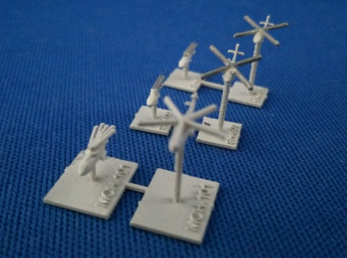 1/2000  JMSDF helicopter set No.1 3d printed painted