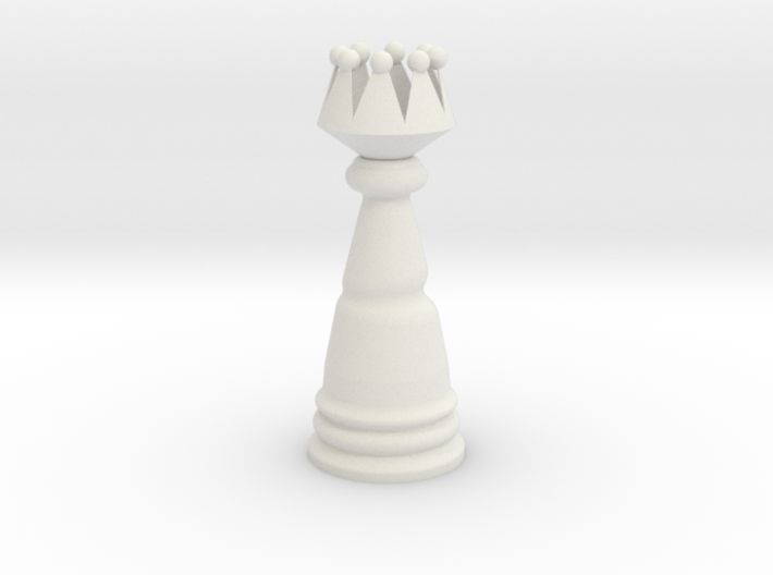 Fantasy Wind Chess - Queen 3d printed