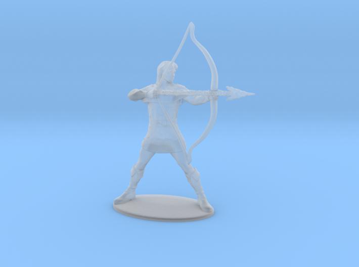 Hank the Ranger Miniature 3d printed