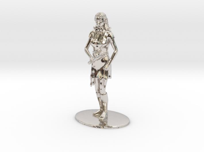 Elven Magic-User Miniature 3d printed