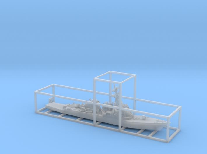 1/1800 USS ArleighBurke 3d printed
