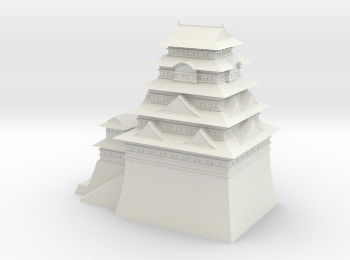 Edo castle 3d printed
