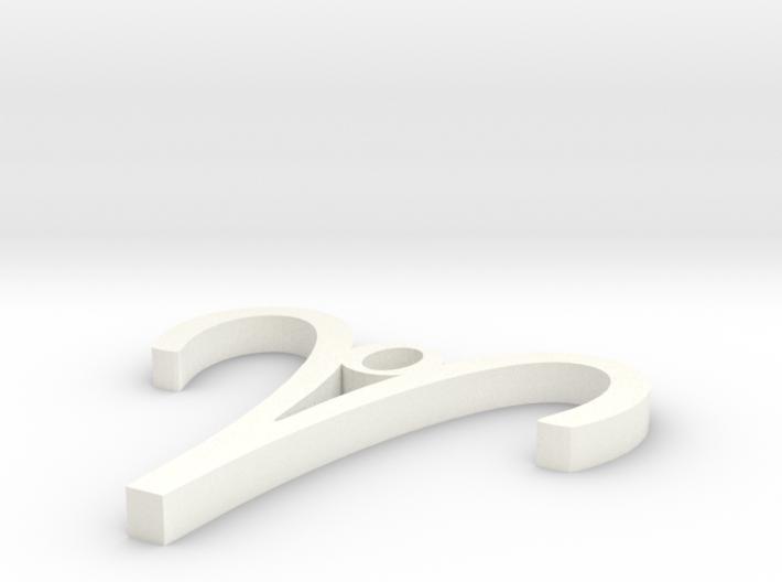 Aries Pendant 3d printed