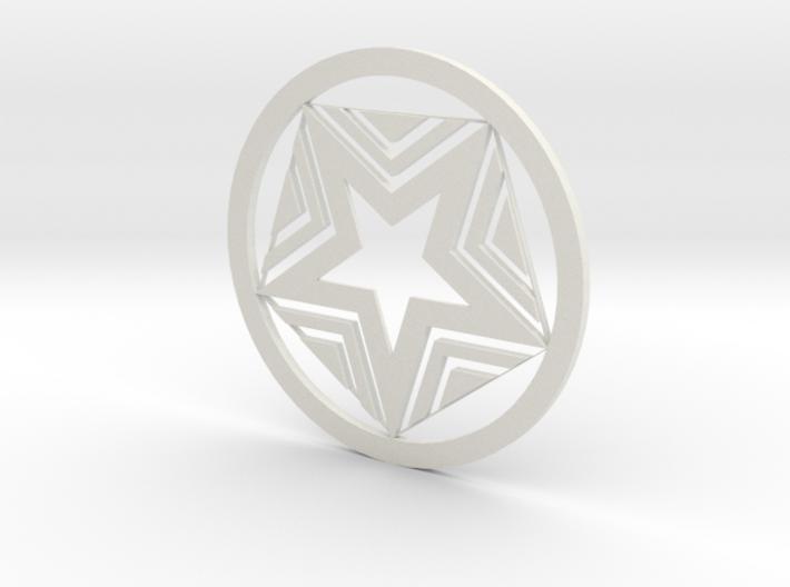 Star coasters 3d printed