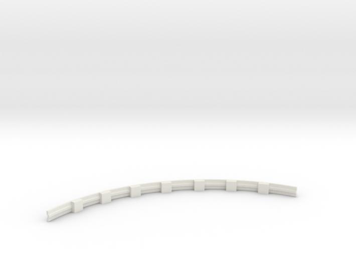 Für Anki Overdrive - Leitplanke Kurve Innen V3 3d printed