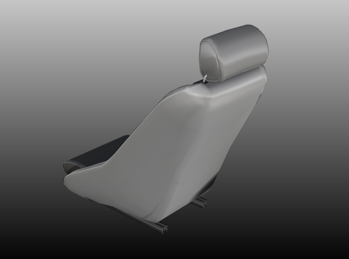 Seat Youngtimer 70´s - 1/10 3d printed