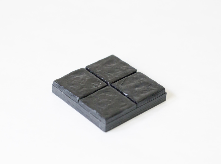 Dragon's Dungeon - Stone floor 2x2 3d printed