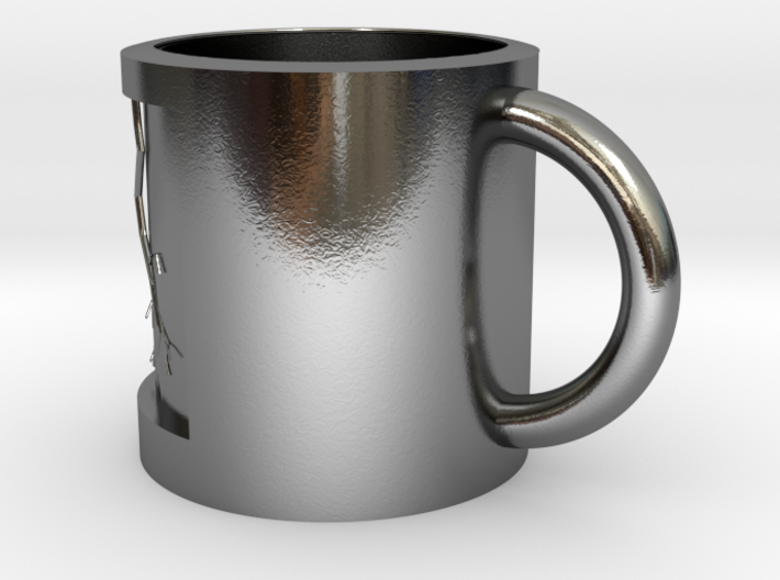flash of cup 3d printed