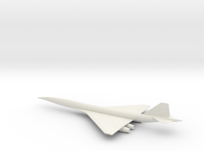 1/400 BOEING 2707-300 SUPERSONIC TRANSPORT SST 3d printed