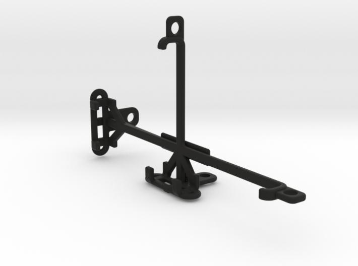 BQ Aquaris M5.5 tripod & stabilizer mount 3d printed