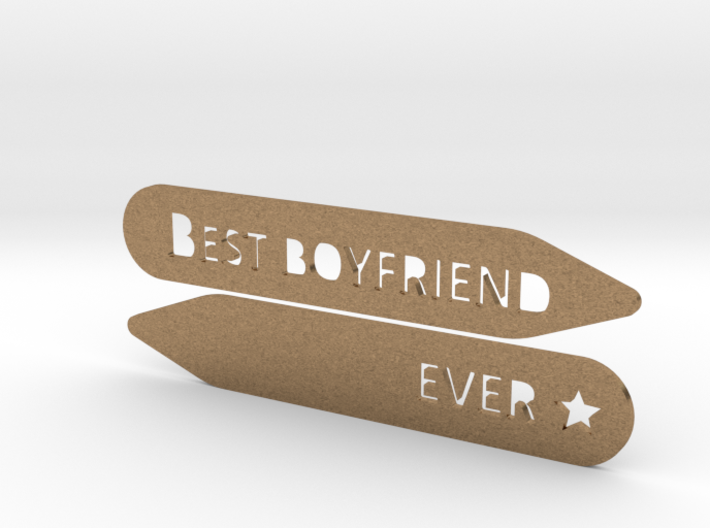 Collar stay: Best Boyfriend Ever 3d printed