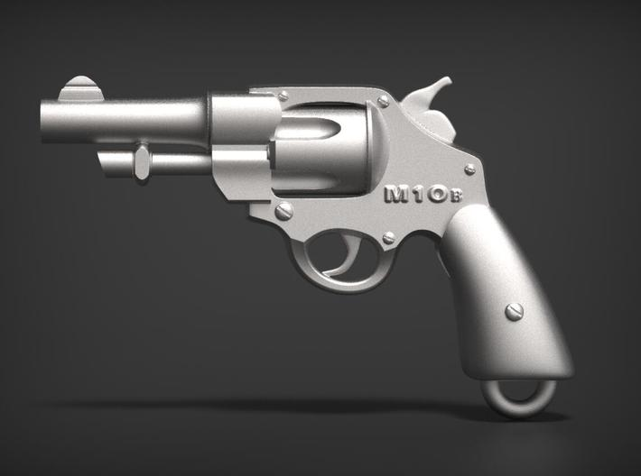 Smith & Wesson M10 B 3d printed