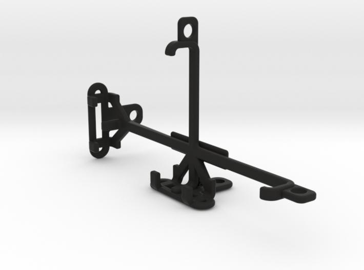 QMobile Noir X80 tripod & stabilizer mount 3d printed