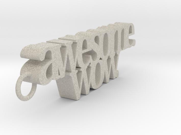 Hamilton key charm: awesome. wow. 3d printed