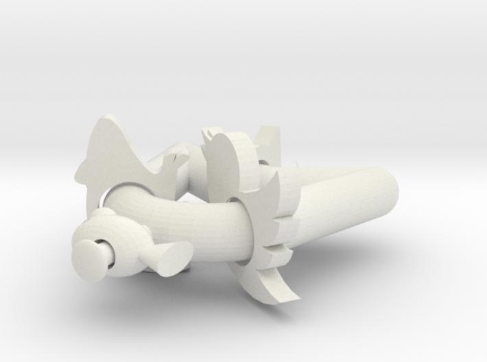 Cat Shaped Fidget 3d printed