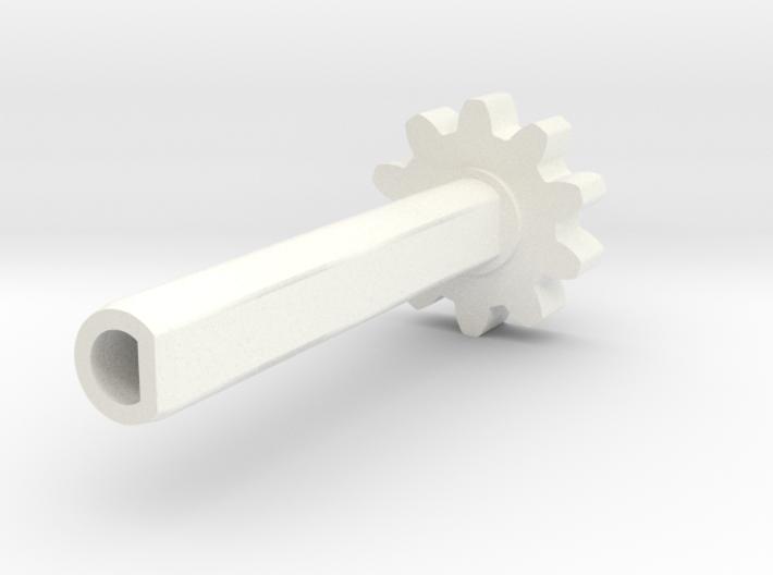 TM02 Shaft Geared V1 3d printed