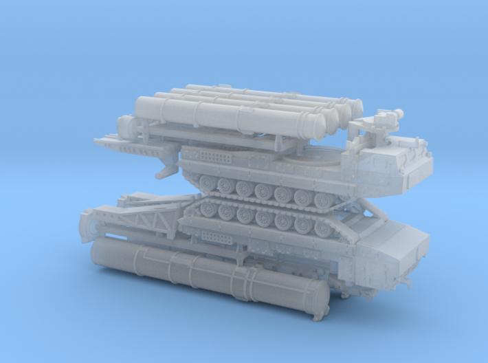 SA-12 SAM Transporter 9A84 9A85 1/285 3d printed