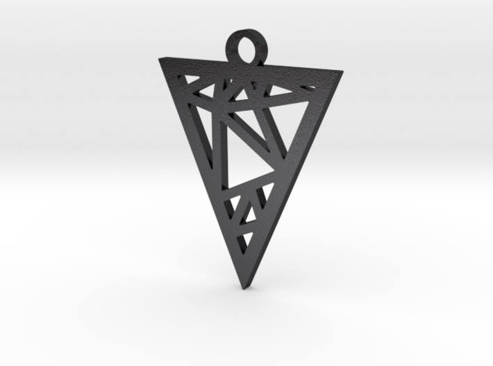 Drop Triangle Pendant 3d printed