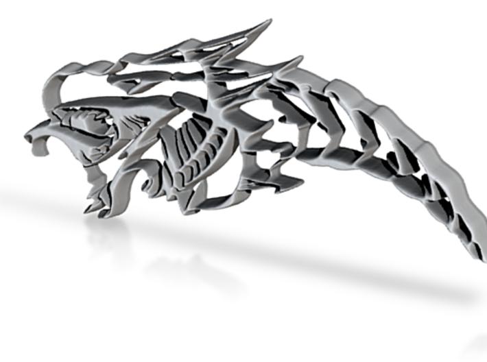 Drachenkopf / Dragonhead 3d printed