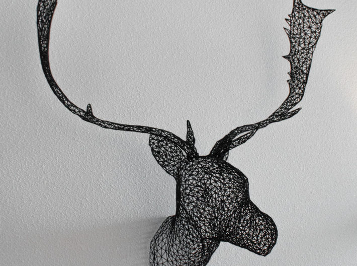 Deer - High detail 3d printed