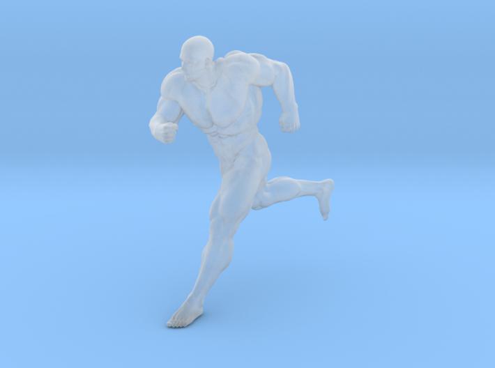 Mini Strong Man 1/64 040 3d printed