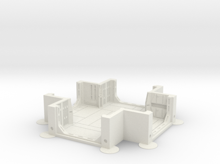 Imperial Assault tile 26A 3d printed