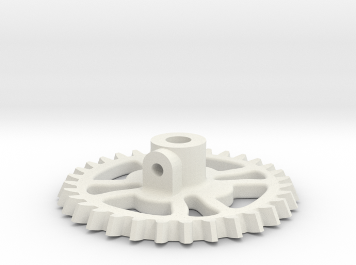 GEAR TOOTH 2-41 Scale 3d printed