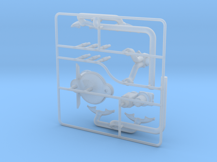 OX5-16 Scale-Parts-2 3d printed