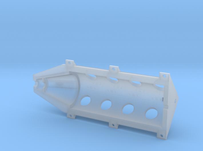 OX5-16 Scale-Upper Crankcase 3d printed