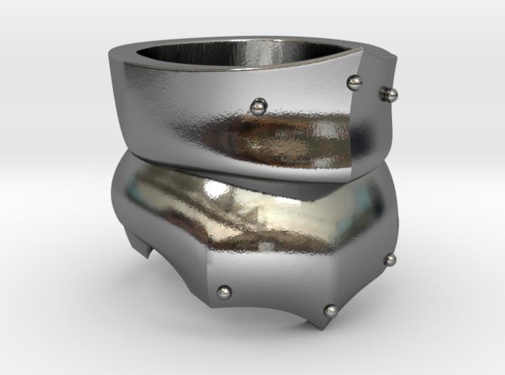 Bevor Ring 3d printed