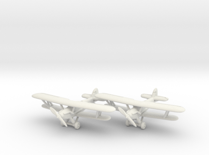 Hawker Audax (two airplanes set) 1/285 6mm 3d printed
