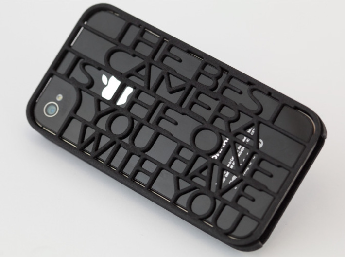 """Best Camera…"" iphone 4s case 3d printed"