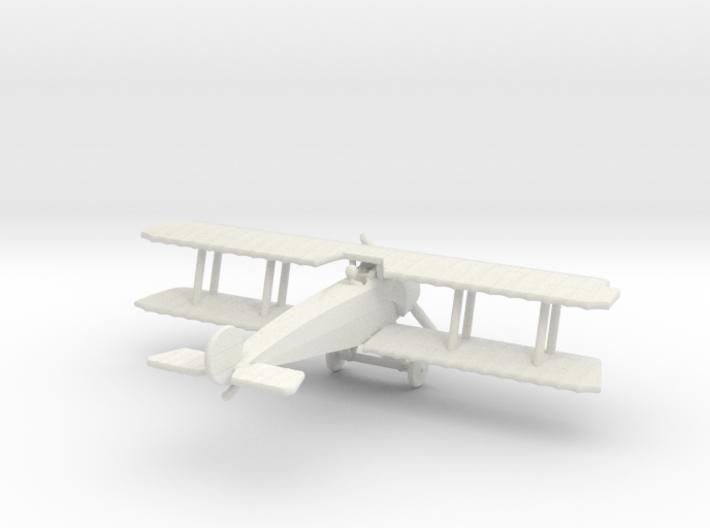 Fokker D.III (with ailerons) 3d printed 1:144 Fokker D.III