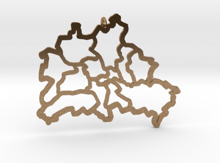 Berlin Pendant 3d printed