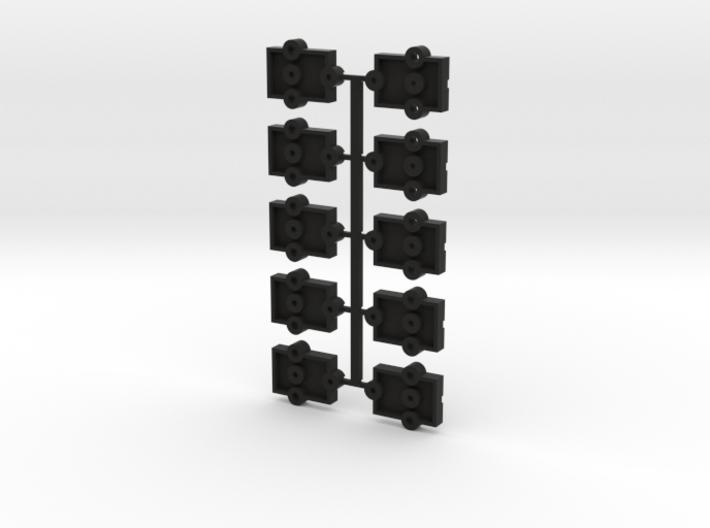 Lionel O Scale Steel Reefer Coupler Mount 3d printed