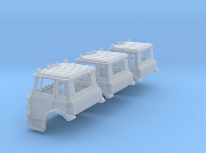 N-scale International Cargostar Cab x3 3d printed
