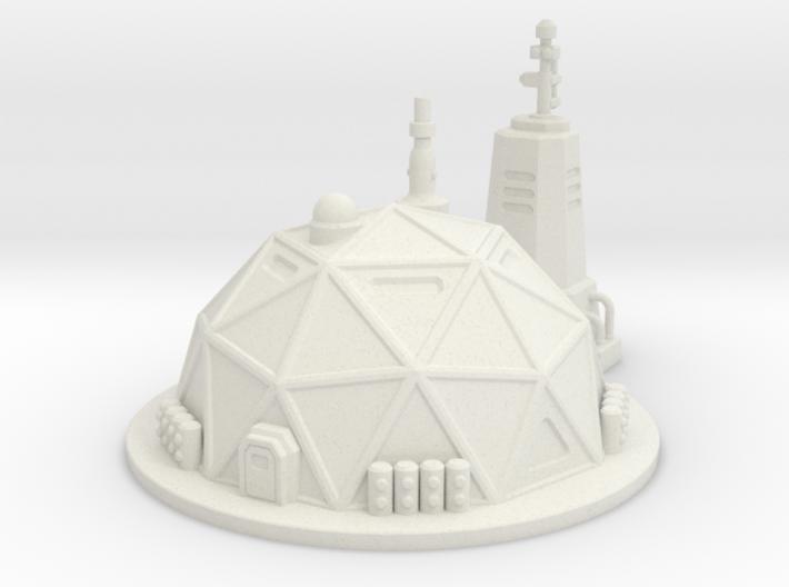 Prefab Dome 3d printed
