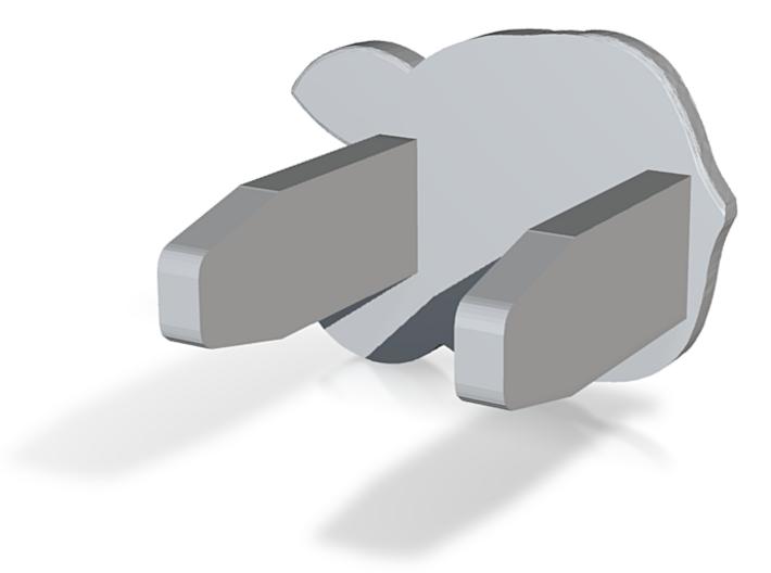 Corgi of Socket protective cover 3d printed