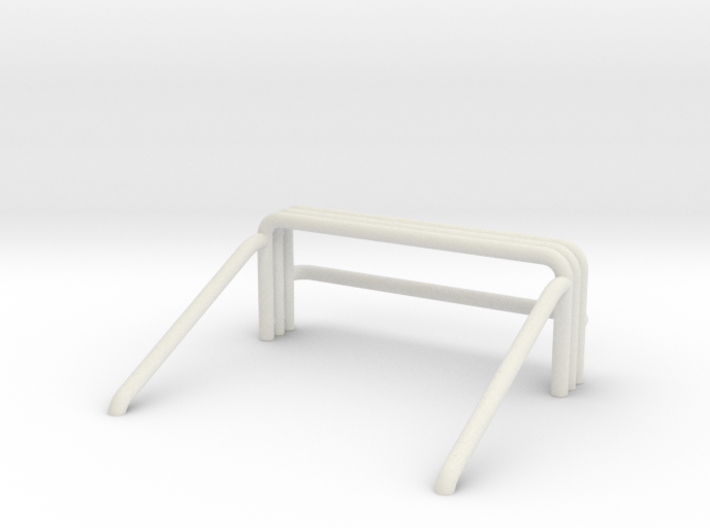 Unimog 425 Rollbar 3d printed