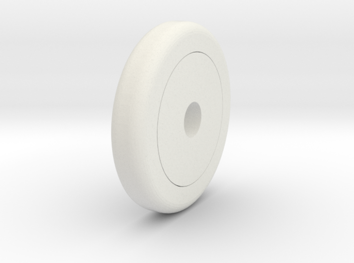 Bobby Car Wheel 1/25 3d printed