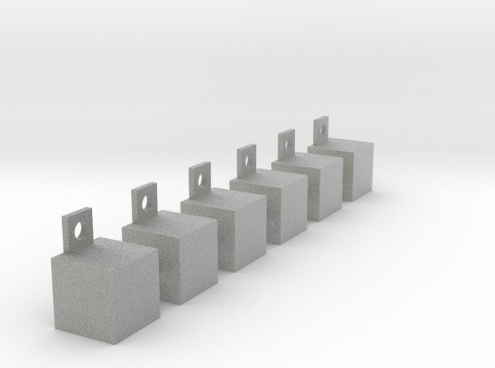 Multifunctional shelves 3d printed