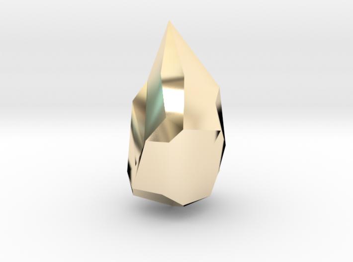Crystal 3d printed