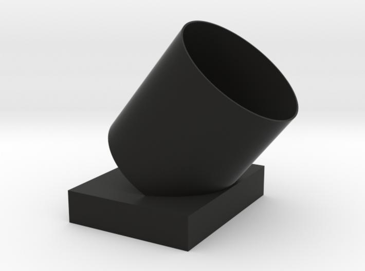 Tilt the umbrella barrel 3d printed