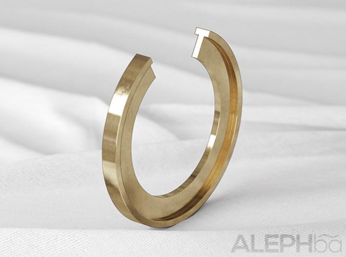 T Ring 3d printed