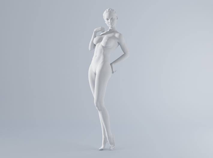 Mini Sexy Woman 030 1/64 3d printed