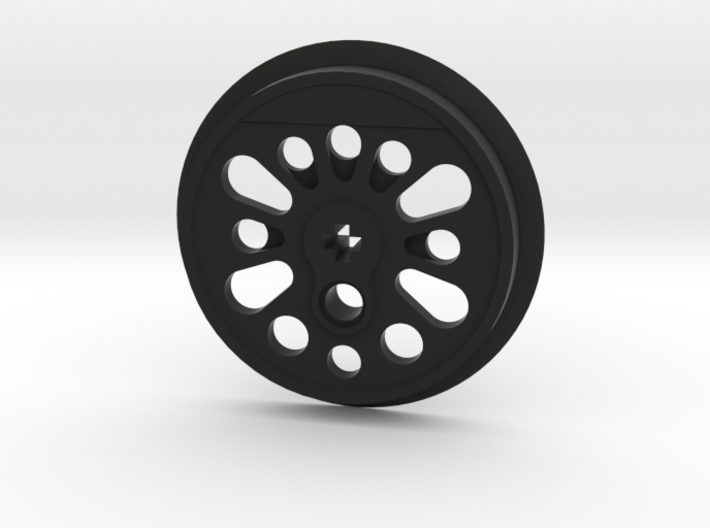 XXL Boxpok Flanged Driver with Traction Groove 3d printed