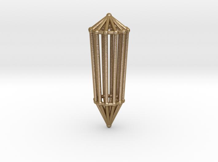 Phi Vogel Crystal - 12 sided 3d printed
