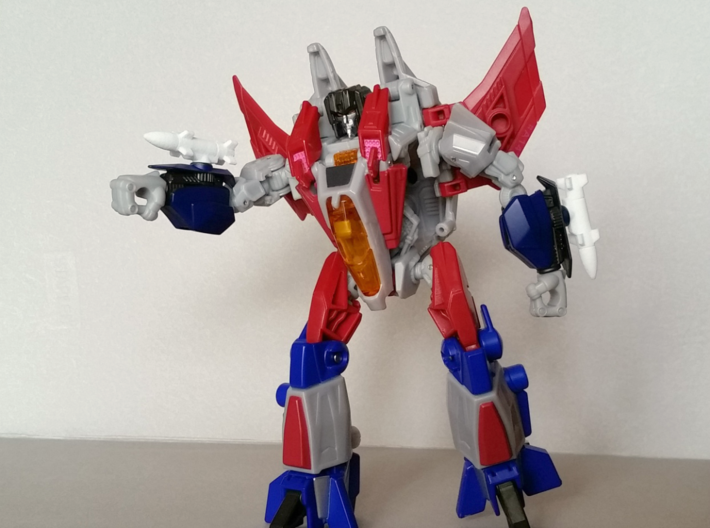 Transformers Missiles Vehicle Accessory (5mm post) 3d printed Generations FOC Starscream